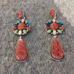 Jewelry - Southwest multi stone earrings
